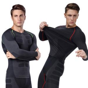 compression shirt men tight