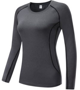 lavento women long sleeve compression shirt