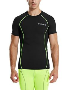 Balead men sports compression top