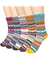 loritta-womens-vintage-thermal-winter-socks-5-pairs